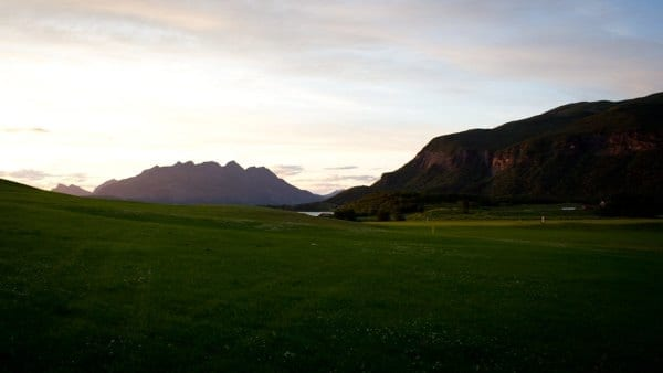 Golf Course in Iceland