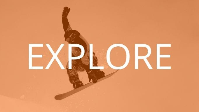 Snowboarding in Iceland