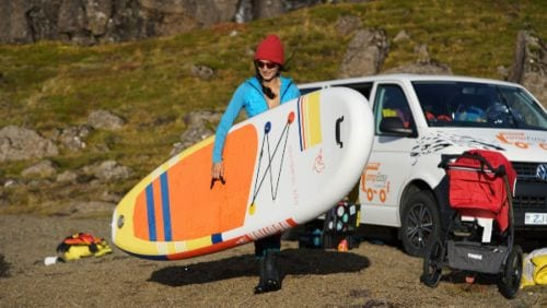 Bring a SUP to Iceland