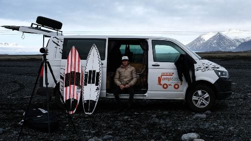 Bring a Surfboard to Iceland